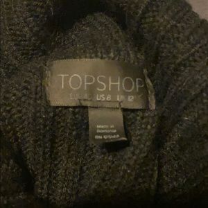 Topshop Sweaters - Topshop Turtle neck sleeveless sweater SZ 8✨